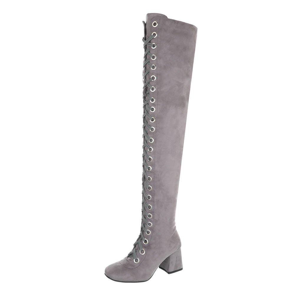 Ital-Design Chaussures Femme et Bottes B01CEEIV8M et Bottines Bloc Bloc Bottes Cuissardes Gris Clair 4e9ce85 - reprogrammed.space