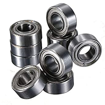 10pcs MR105 MR105ZZ Miniature Bearings Ball Mini Bearing 5 X 10 X 4mm