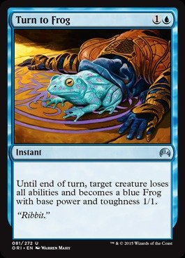 Magic: the Gathering - Turn to Frog - Origins