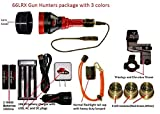 Cheap Sniper Hog Lights 66LRX Gun Hunters Package with 3 Colors