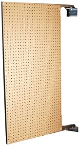 Triton Products B1 XtraWall Wall Mount Double-Sided Swing Panel Pegboard 24-Inch W by 48-Inch H by 1-1/2-Inch D