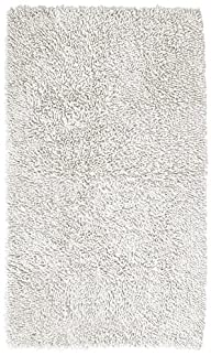 Pinzon Luxury Loop Cotton Bath Mat – 21 x 34 inch, White