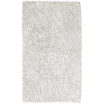 Pinzon 100 Cotton Looped Bath Rug With Non Slip Backing
