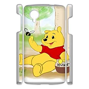 Google Nexus 5 Cell Phone Case Winnie The Pooh & Quotes Case Cover PA8P314529