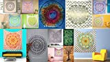 Wholesale Lot Of 20 Pcs Mandala Tapestry Wall Hanging, Hippie Gypsy Wall Hanging, Dorm Decor Tapestry, Twin Size Bedding Bedspread, Ethnic Wall Art