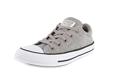 5366f6b7a0e2 Converse Womens Chuck Taylor All Star Madison-Ox Low-Top Mercury Grey Mouse