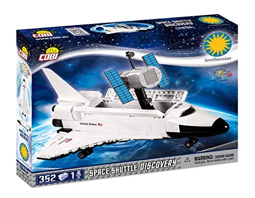 COBI Smithsonian/Space Shuttle Discovery Model Building Kits, Multicolor (Space Shuttle Building Kit)