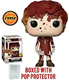 Funko Pop! Movies: Stephen King's It - Bloody Beverly Marsh CHASE Variant Limited Edition Vinyl Figure (Bundled with Pop Box Protector Case)