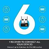 Logitech M705 Wireless Marathon Mouse for PC - Long
