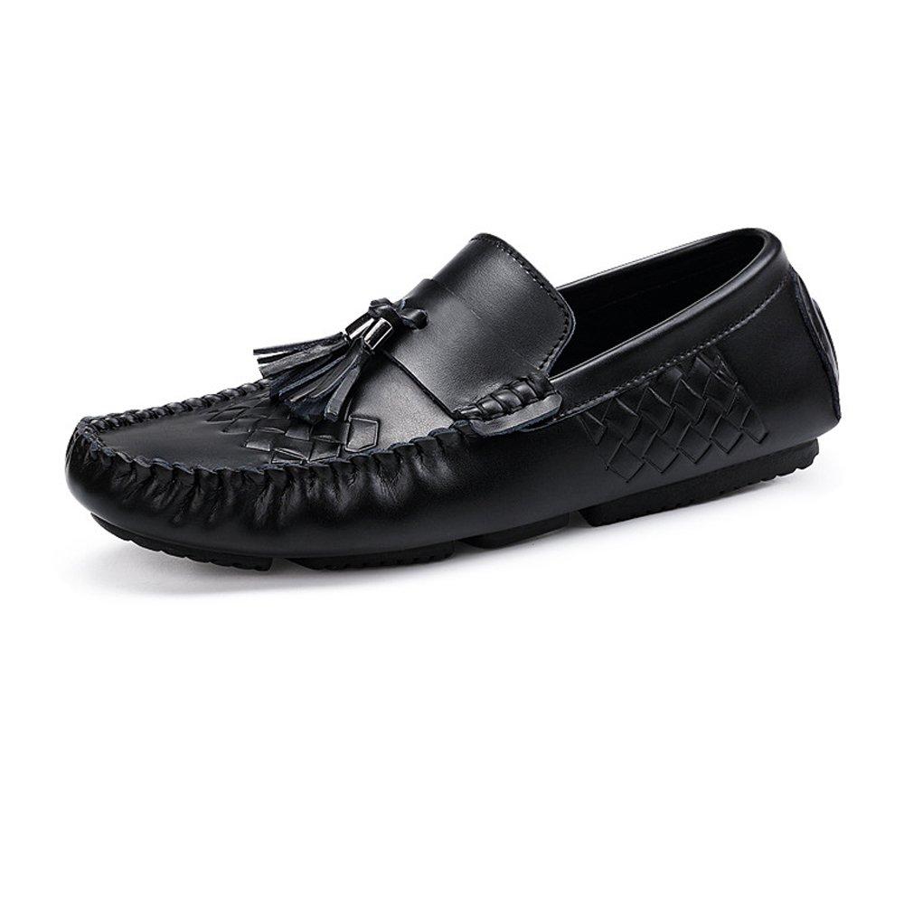 Jiuyue-Zapatos Mocasines de Penny de conducci oacute;n de los los los Hombres Que Imprimen la Suela de Goma Suave de Vac Moccasins del Cuero Genuino (Color : Printing, tama ntilde;o : 44 EU) 78f6cb