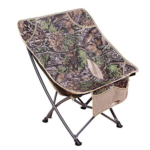 (ZCXBB Outdoor Portable Folding Chair Butterfly Chair Back Fishing Chair Barbecue Beach Stool Sketch Chair Moon Chair Lazy Chair)