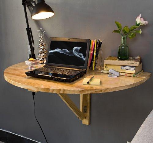 Sobuy Fwt10 N Table Murale Rabattable En Bois Table De Import It All