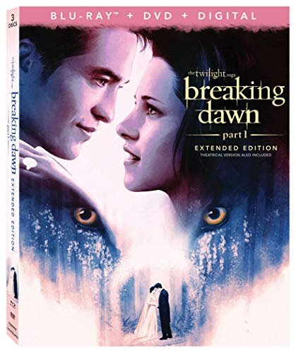 THE TWILIGHT SAGA: BREAKING DAWN PT1 3-Disc Combo Pack+Extended Edition [Blu-ray] ()
