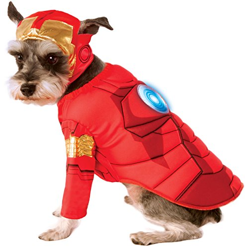 Image of Rubie's Avengers Assemble Deluxe Iron Man Pet Costume, Medium