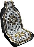 Speedwav 22529 Acupressure Design Marble Bead Seat (Golden)