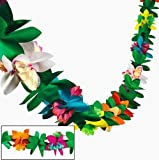 : Tissue Flower Garland by Fun Express (1-Pack)