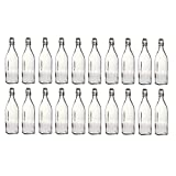 20x 1L Swing Top Glass Bottles (Just in time for Summer)