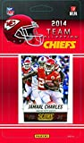 Kansas City Chiefs 2014 Score NFL Football Factory Sealed 12 Card Team Set with Alex Smith, Aaron Murray, Dee Ford Plus