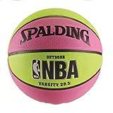 Kyпить Spalding NBA Varsity Basketball - Pink/Green (28.5