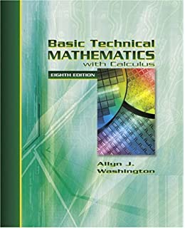Basic technical mathematics with calculus si version ninth basic technical mathematics with calculus 8th edition fandeluxe Choice Image