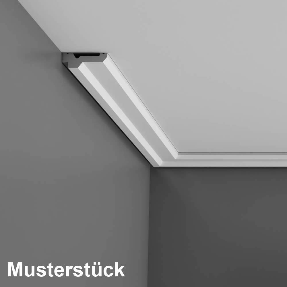 Patrones de costura pieza 20 cm Orac Decor C360 techo (esquina LUXXUS - Listón Barra de estuco Moldura Ornamentales perfiles: Amazon.es: Bricolaje y ...