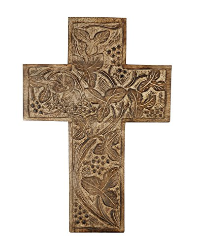 Handmade Wall Crosses for Home Decor Religious Wooden Decorative (Charity Halloween Party Ideas)
