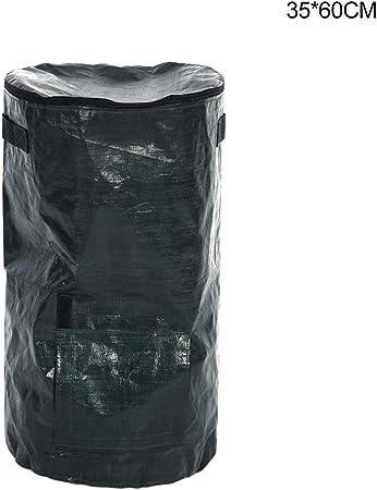 Organic Waste Home Kitchen Fruit Compost Bag PE Cloth Planter Vegetable Grow Bag