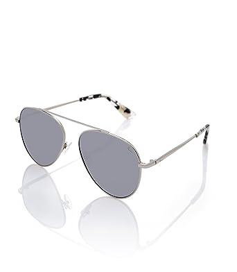 STARLITE Naomi Campbell, Metallic Sun Glasses Silver, Montures de Lunettes Femme, é (Silver), 56