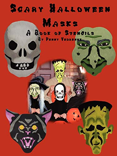 Scary Halloween Masks: A Book of -