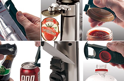 The Sharper Image 7 In 1 Stainless Electric Can Opener Amazonca