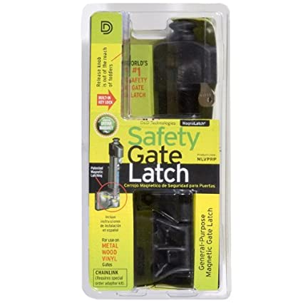 MagnaLatch Vertical Pull Gate Latch - Swimming Pool Safety Products - Amazon.com