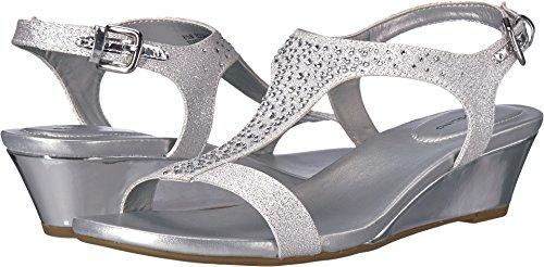 Bandolino Women's Gruglia Silver 7 M US