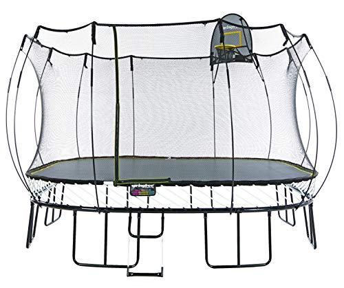 Springfree Trampoline - 13ft Jumbo Square With Basketball...