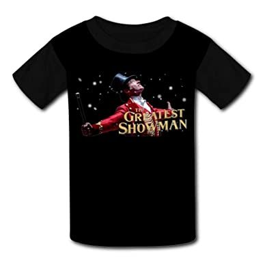 15da09962 Amazon.com: Fenghual The-Greatest-Showman Black Raglan T-Shirts Short  Sleeve Sports Sweat Tee for Kids Boys Girls: Clothing