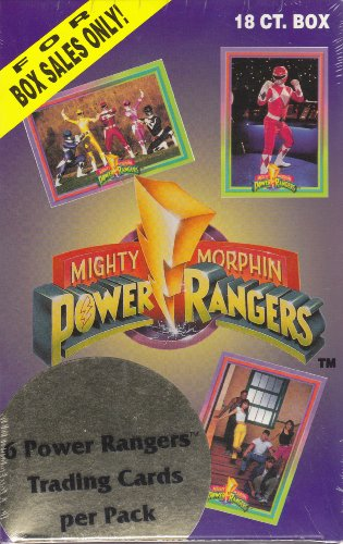 Buy power rangers trading card box