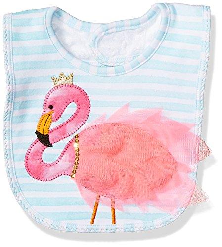 Mud Pie Baby Bib Applique, Flamingo, One Size