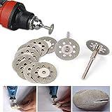 New Rotary Tool Mini Circular Saw Blades Cutting Wheel Discs Mandrel Cutoff