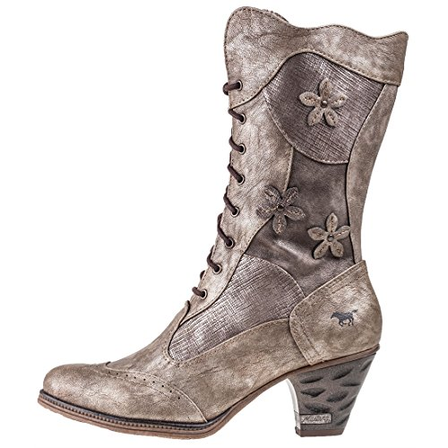 Mustang 1255-504 femmes Boots Braun