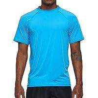 Arcweg Camiseta Hombres Mangas Cortas Rash Guard de Protección UPF 50+Secado Rápido Deportes Acuáticos Surf Natación…