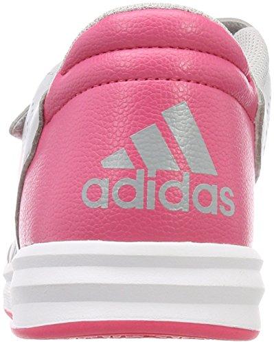 adidas Altasport CF K, Zapatillas de Gimnasia Unisex Niños Gris (Gridos/Rosrea/Ftwbla 000)