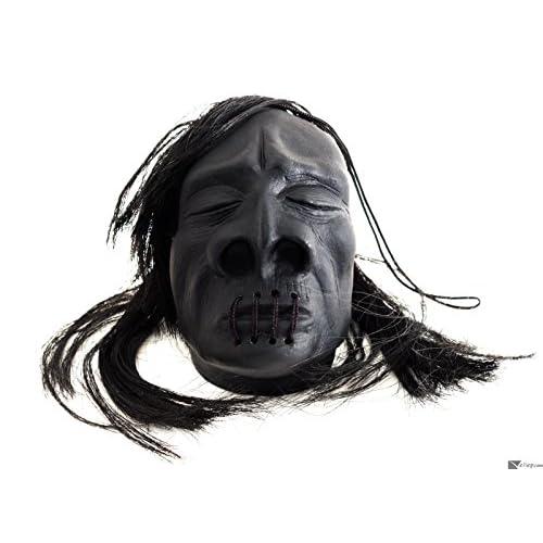 HeadPropHW Tête réduite voodoo avec longs cheveux