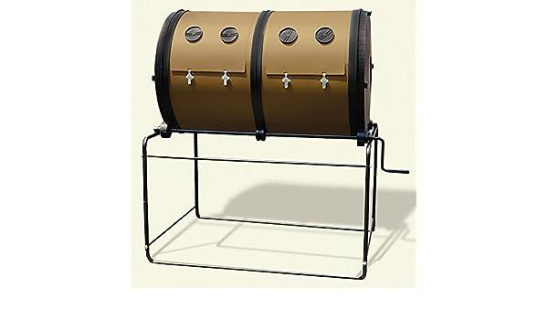 Compostador de jardín Mantis con 2 compartimentos ...