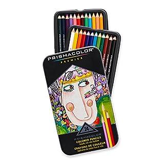 Prismacolor Premier Colored Pencils, Soft Core, 24-Count (B00006IEEU) | Amazon Products