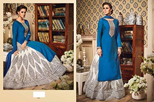 Bollywood Wastern Wear Gown Ethnic Designer Women Hijab Indian Anarkali Salwar Kameez suit 8809