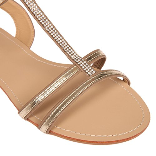 De Marrón Modeuse La Mujer Sandalias Vestir q6FBwZHx