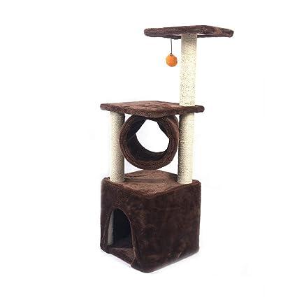 Moolo Árbol de Gato Estructura de Escalada de Gato, árbol de Gato de sisal Junta