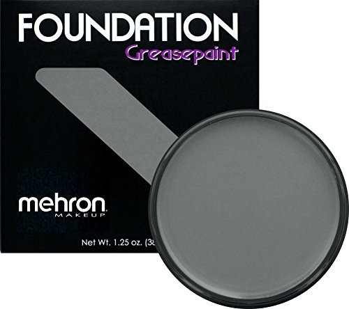 Mehron Makeup Foundation Greasepaint (1.25 oz) (MONSTER GREY)