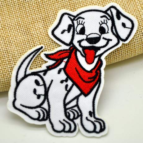 Dalmatian Pet Dog Embroidered Patch Iron On Sewing Animal Applique Badge Clothes Patch Stickers Apparel Sewing Accessories Shipped from USA from Dog Patch