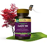 CoQ10 Supplement for Cardiovascular Heart Health Support Helps Boost Energy amp Improve Digestion - All Natural Vitamin - 100mg Softgels - 60 Pack - by Nutrimedica Discount