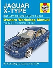 Jaguar X Type Petrol & Diesel 01 10)